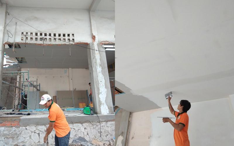 dịch vụ xây tô