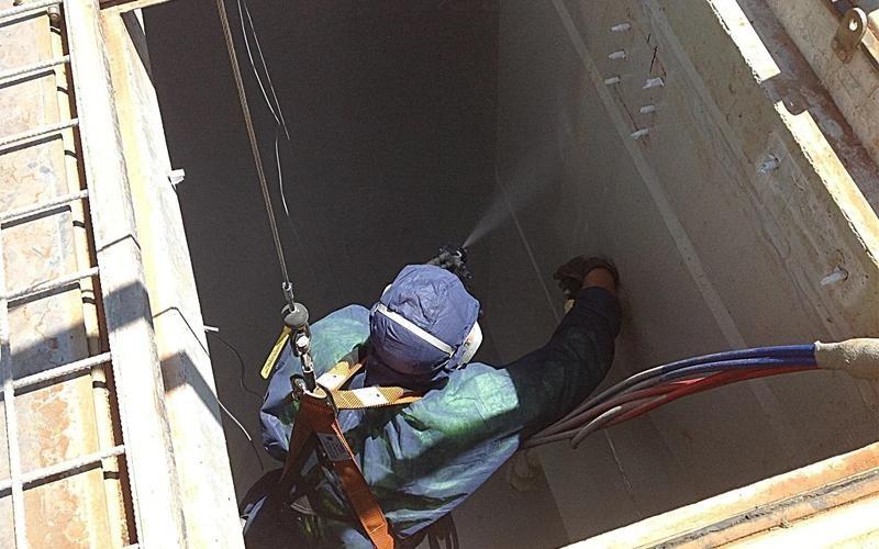 Dịch vụ chống thấm hầm thang máy