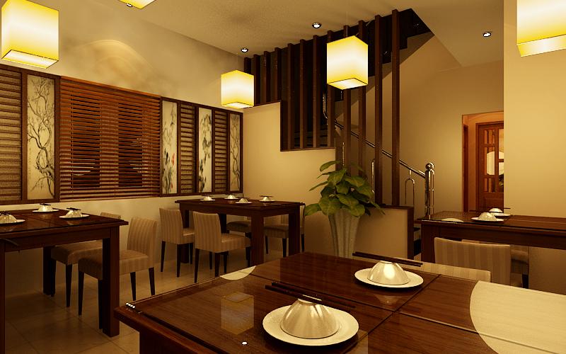 dịch vụ thi công nội thất nhà hàng, quán cafe