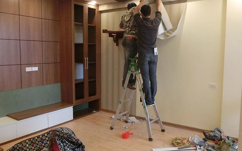 dịch vụ thi công nội thất phòng khách