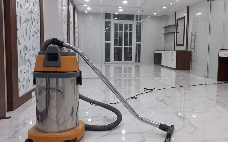 dịch vụ vệ sinh công trình mới thi công