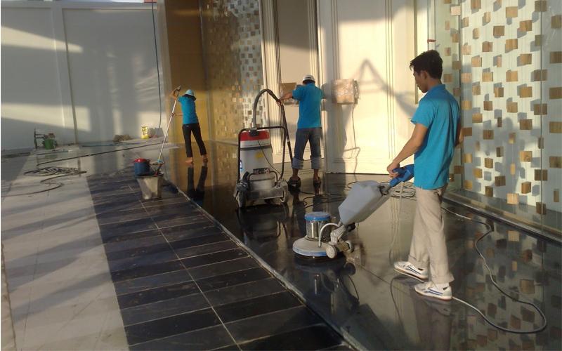 dịch vụ vệ sinh đá hoa cương