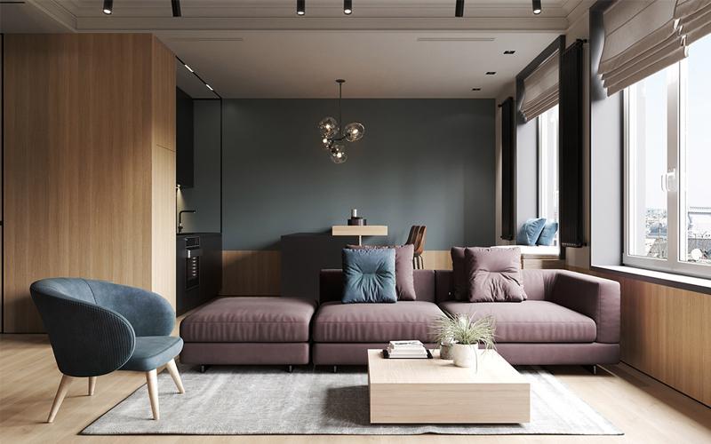 dịch vụ thi công nội thất căn hộ chung cư