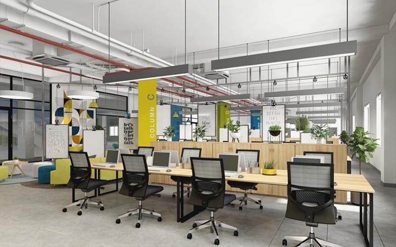 Dịch vụ thi công nội thất văn phòng