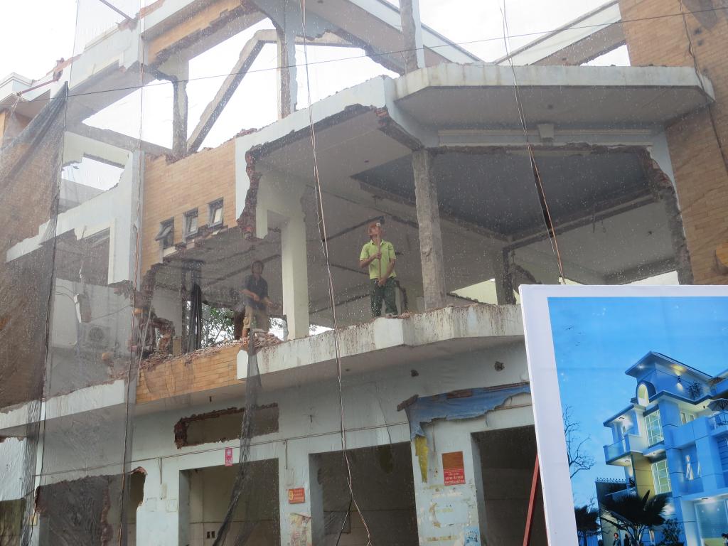 Công trình trước thi công cải tạo sửa chữa nhà của F24