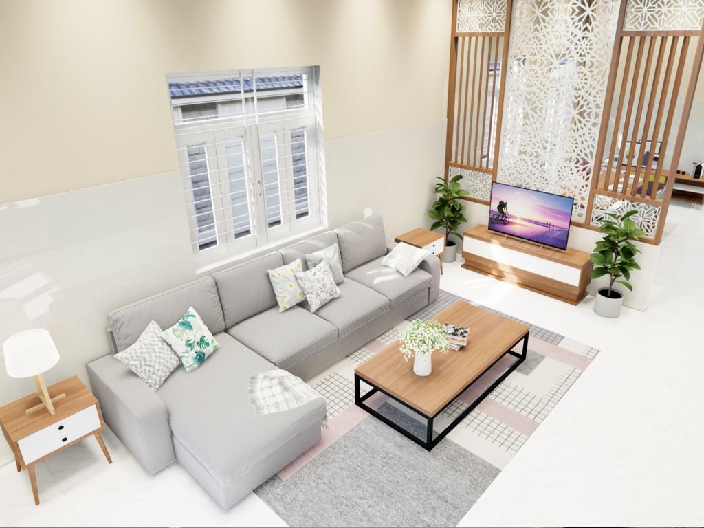 Thiết kế nội thất nhà khách hàng - Bảo trì F24 - 002