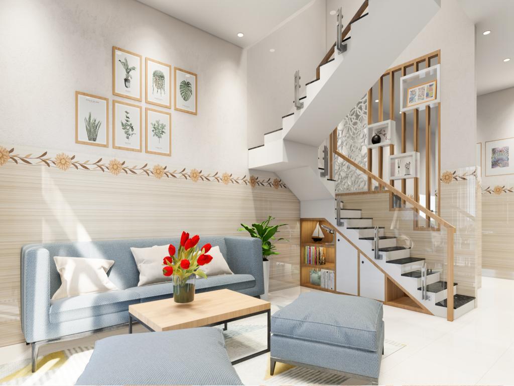 Thiết kế nội thất nhà khách hàng - Bảo trì F24 - 005