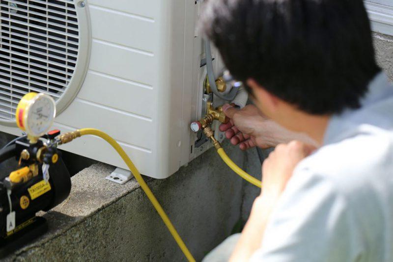 máy lạnh bị nghẹt gas sửa như thế nào